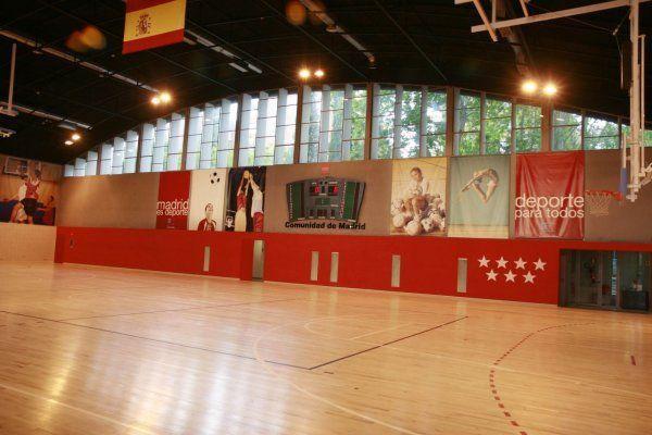 Instalaciones deportivas canal de isabel ii madrid for Oficinas canal isabel ii madrid