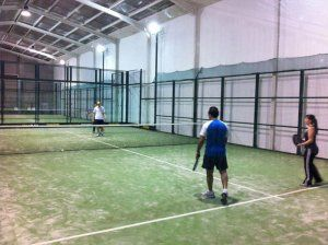 Foto Padel Indoor Barbastro