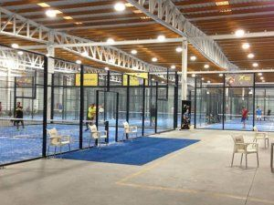 Foto Padel Indoor Drop Shot