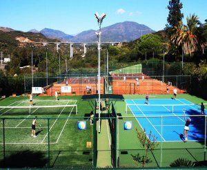 Foto Manolo Santana Racquets Club Marbella
