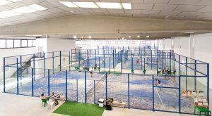 Foto El indoor Padel Club de Yecla